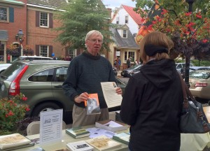 Volunteer Doug R at Fall Festival