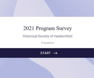 Start screen of 2021 program survey